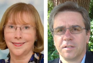 Donna Fitzgerald and Eugen Oetringer